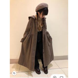 ehka sopo - 【ehka sopo エヘカソポ】ネップツィードセーラー衿コート