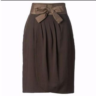 ジャスグリッティー(JUSGLITTY)のジャスグリッティー  ドレープスカート(ひざ丈スカート)