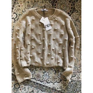 ZARA - 新品!ZARA ポンポン付きセーター