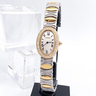 Cartier - 【仕上済】カルティエ ベニュワール K18 ベルエポック コンビ ダイヤ 時計