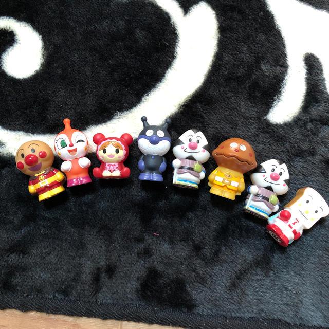 アンパンマン8個セット エンタメ/ホビーのおもちゃ/ぬいぐるみ(キャラクターグッズ)の商品写真