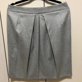 インディヴィ(INDIVI)のINDIVI 冬用スカート 大きいサイズ(ひざ丈スカート)