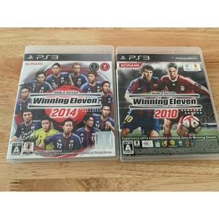 プレイステーション3(PlayStation3)のPS3 winning eleven 2013 2014 セット(家庭用ゲームソフト)
