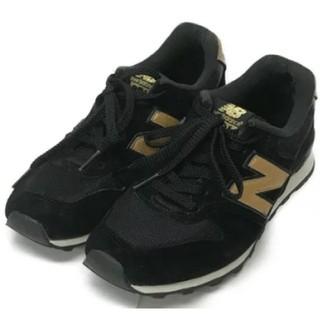ニューバランス(New Balance)のニューバランス 996 黒×ゴールド 24.5cm(スニーカー)