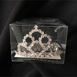 ヴァンドームアオヤマ(Vendome Aoyama)の新品・未開封/Vendome Aoyama/手のひらサイズのミニティアラ(その他)