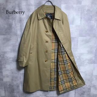 BURBERRY - burberry ノバチェック ステンカラーコート
