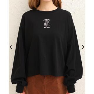 GRL - 女の子刺繍Tシャツ