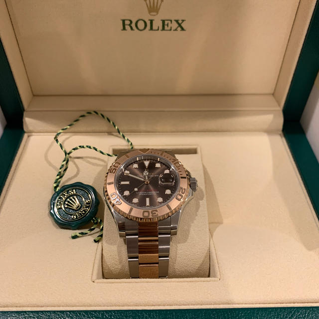 ROLEX - ロレックス YACHT-MASTER OYSTER PERPETUAL DATEの通販 by haruki's shop