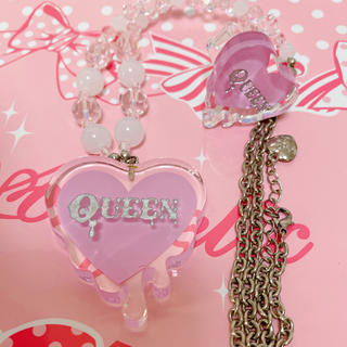 Angelic Pretty - Angelic Pretty QueenHeartネックレス リング