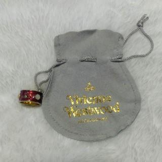 Vivienne Westwood キングリング ゴールド レッド(リング(指輪))