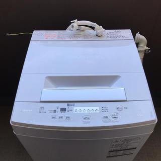トウシバ(東芝)の洗濯機 2018年製 東芝 4.5kg 美品 送料込み!!(洗濯機)
