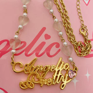 Angelic Pretty - Angelic Pretty ロゴモチーフネックレス
