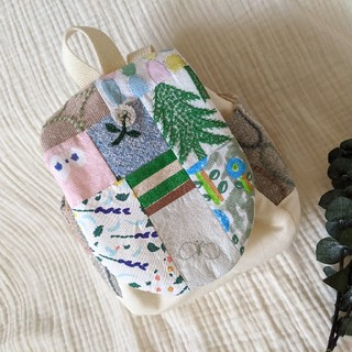ミナペルホネン(mina perhonen)の専用です🙇🏻♀️ミナペルホネン パッチワークベビーリュック(リュックサック)