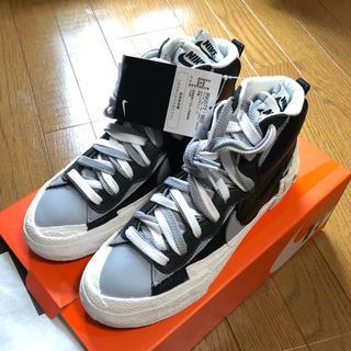 ナイキ(NIKE)の23.5cm Nike Sacai Blazer Mid Black(スニーカー)