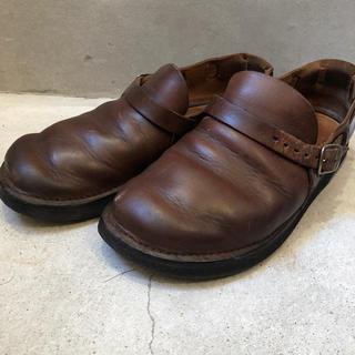 アウロラ(AURORA)のオーロラシューズ  ブラウン (ローファー/革靴)
