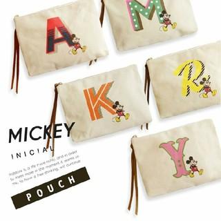 ミッキーマウス(ミッキーマウス)の★ミッキーマウス / イニシャルポーチ 【K】1つ(ポーチ)