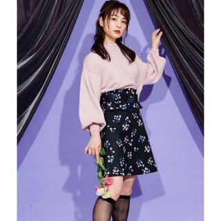 ティティアンドコー(titty&co)のtitty&co♡フラワーフリルスカート(ミニスカート)