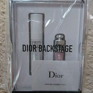 Dior - Diorバックステージセット