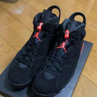 NIKE - 28cm NIKE AIR JORDAN 6 Infrared Black