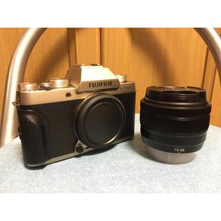 富士フイルム - フジフイルム X-T100 XC15-45mm標準ズームレンズセット 保証残り有