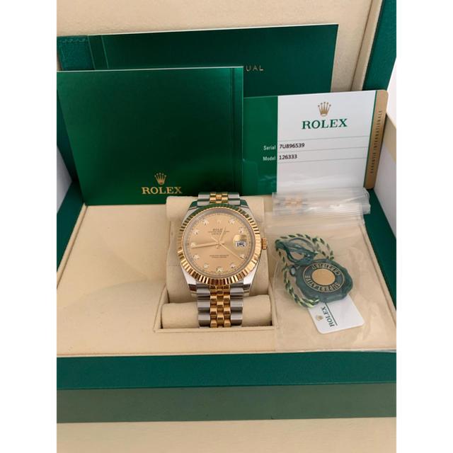 エルメス 財布 ベアン スーパーコピー時計 | ROLEX - ROLEX DATEJUST 126333Gの通販 by k
