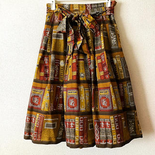 JaneMarple - JaneMarple Jane's bookcase ドレススカート