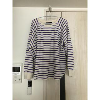 カスタネ(Kastane)のワッフルボーダーロンT(Tシャツ(長袖/七分))