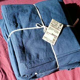 MUJI (無印良品) - 無印良品  ベッド用 ふとんカバーセット シングル 綿平織り