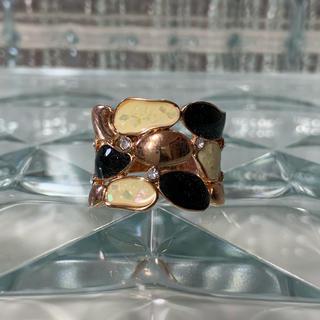 ★1点物★ AAAA級 CZダイヤモンド 17号 リング 指輪 ピンクゴールド(リング(指輪))