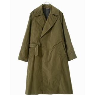 コモリ(COMOLI)のCOMOLI tielocken coat khaki size 3 BN UU(トレンチコート)