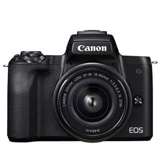 Canon - 【新品】Canon EOS KISS M ブラック