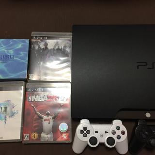 プレイステーション3(PlayStation3)のPS3本体とゲームソフト4本セット(家庭用ゲーム機本体)