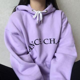 CHANCE CHANCE 紫トレーナー 💜