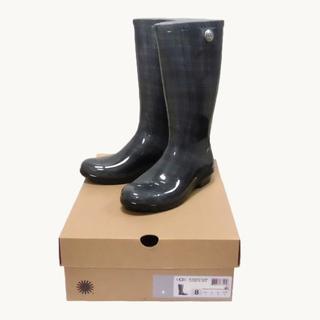 アグ(UGG)の★新品★UGG★W Shaye レインブーツ (Green/W8/25cm)(レインブーツ/長靴)