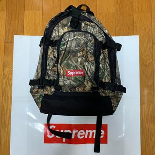 シュプリーム(Supreme)の新品 Supreme 19AW Backpack Real Tree camo (バッグパック/リュック)