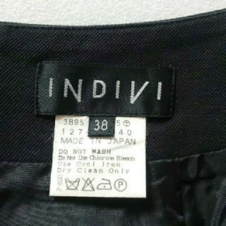 インディヴィ(INDIVI)のINDIVI タイトスカート(ひざ丈スカート)