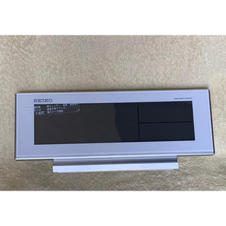 セイコー(SEIKO)のSEIKO ROCK  置き時計 電池付(置時計)