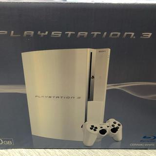 プレイステーション3(PlayStation3)のプレイステーション3 本体 白 40GB(家庭用ゲーム機本体)