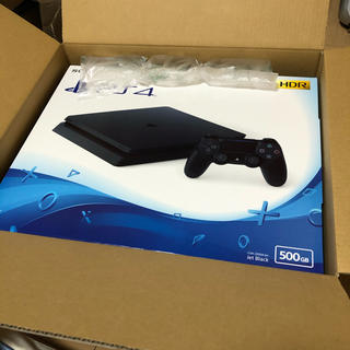 PlayStation4 - PS4本体 PlayStation®4 ジェットブラック 500GB 新品未開封