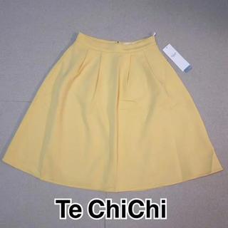 テチチ(Techichi)の・Te  ChiChi フレアスカート M ☆新品・タグ付き☆(ひざ丈スカート)