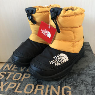 ザノースフェイス(THE NORTH FACE)の新品!ノースフェイス ヌプシ 20センチ(ブーツ)