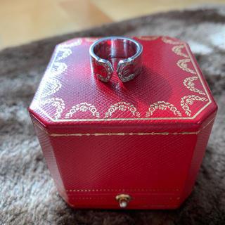 カルティエ(Cartier)の最終値下げ カルティエ 2C リング ミレニアム ダイヤ付き 48(リング(指輪))