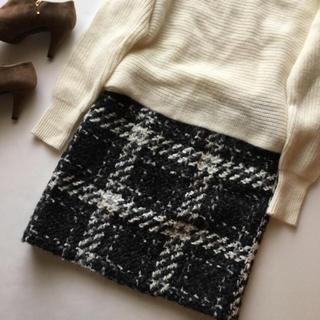 TOMORROWLAND - 美品 トゥモローランド*ふわふわウールニットスカート