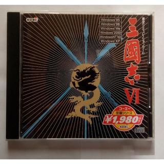 コーエーテクモゲームス(Koei Tecmo Games)のPCゲームソフト 三国志Ⅵ コーエー(光栄・KOEI) (PCゲームソフト)