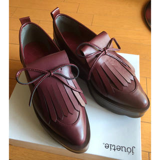 メリージェニー(merry jenny)のmerry jenny オックスフォード 厚底シューズ 超美品(ローファー/革靴)