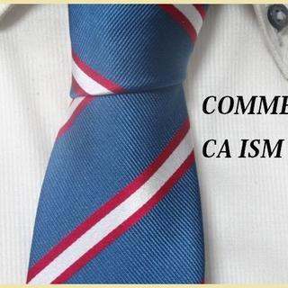 COMME CA ISM - 極美品★COMME CA ISM★コムサイズム【レジメンタルストライプ】ネクタイ