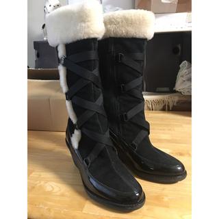 コールハーン(Cole Haan)のコールハーン ナイキエア ブーツ  7B  24 雪に対応 ウォータープルーフ(ブーツ)