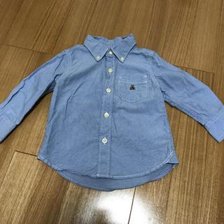 babyGAP - BabyGap シャツ 水色 ブルー 80
