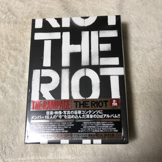THE RAMPAGE - THE RIOT CD+2DVD
