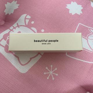 beautiful people - beautiful people 靴紐